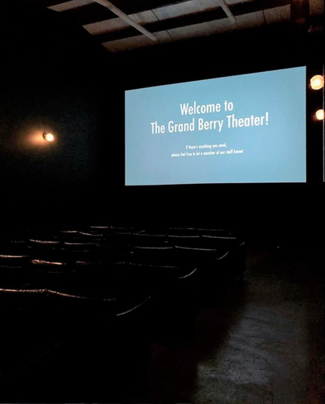 The Grand Berry Theater, Jimmy Sweeney, interior